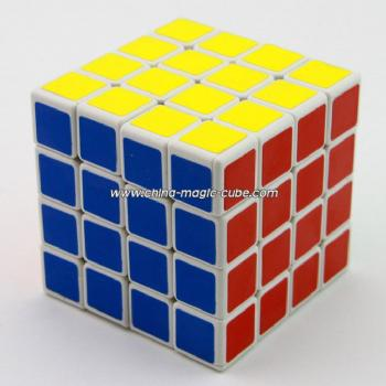 ShengShou 4x4x4 Spring Magic Cube White Puzzles Toys