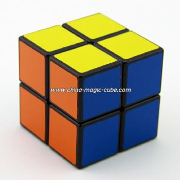 Free Shipping ShengShou 2x2x2 Spring Magic Cube Black PVC Stickers Puzzles Toys