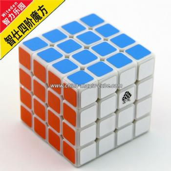 <Free Shipping>Type C WitFour 4x4 White Magic Cube