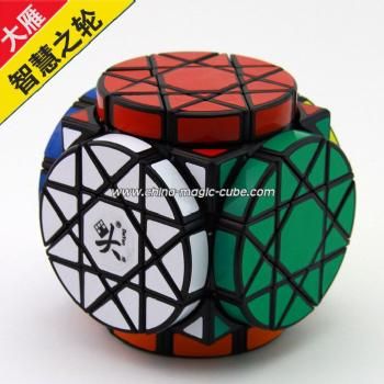 <Free Shipping>DaYan puzzle Wheels of Wisdom black
