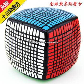 <Free Shipping>MoYu 13x13x13 Magic Cube Black 13x13x13 Rubik's Cube, 13x13x13 Puzzles,13-Layer Cube