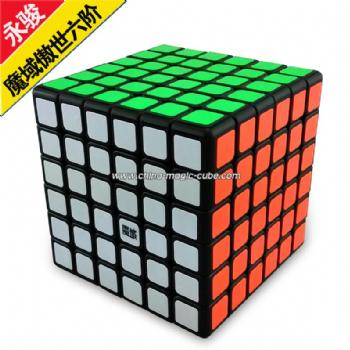 <Free Shipping>MoYu 6x6x6 Aoshi 6x6x6 Magic Cube Black 6x6x6 Rubik's Cube, 6x6x6 Puzzles,6-Layer Cube