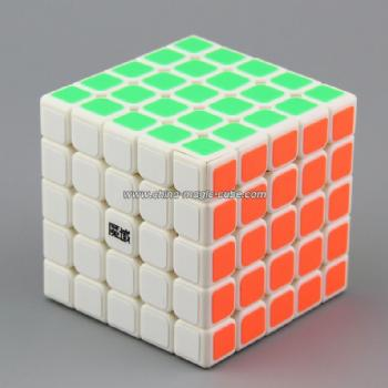 <Free Shipping>MoYu 5x5x5 Huachuang White Magic Cube Toys Puzzles