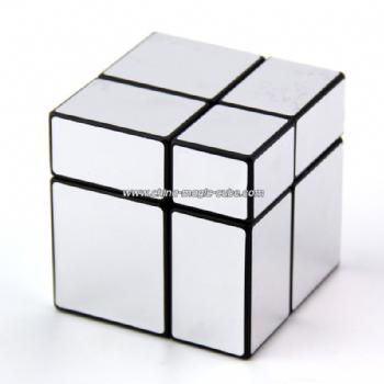 Mir-two 2x2x2 mirror cube with silver stickers