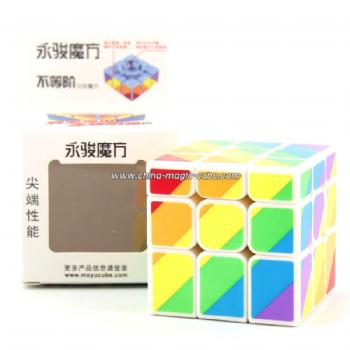 YongJun YJ Unequal 3x3x3 Magic Cube Puzzle