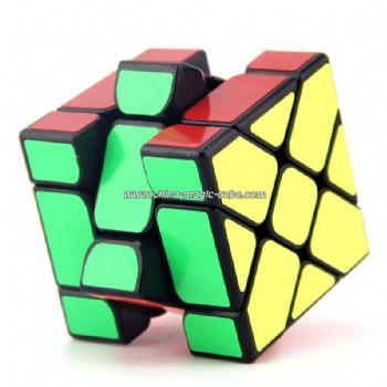 NEW YongJun YJ 3X3X3 Fisher Cube Magic Cube Speed Puzzle - Black