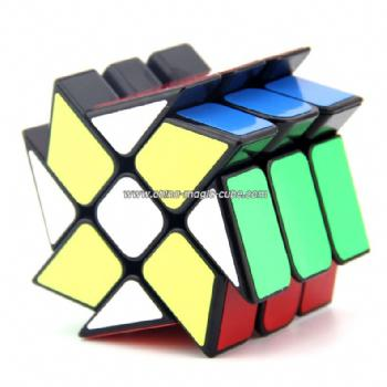 YJ Windmill cube black Magic cube