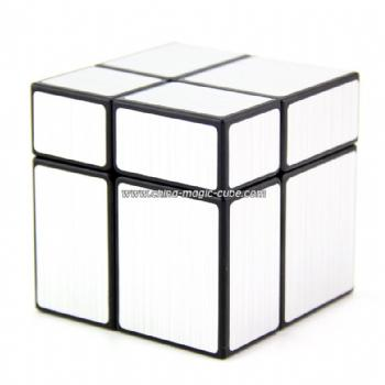 ShengShou 2x2x2 mirror cube with silver stickers
