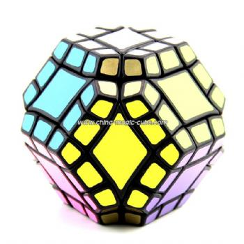 Lanlan dodecahedron with 12 axis Magic Cube