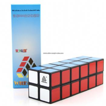 WitEden 2x2x6 Cuboid Cube(Black color)