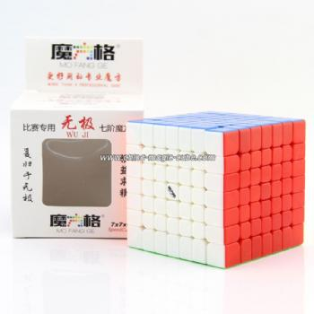 Qiyi Mofangge Wuji 7x7 Magic Cube StickerlessSpeed Puzzle 69mm Learning Education toys For children