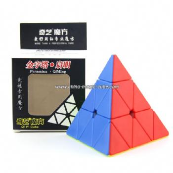 QiYi QiMing Pyraminx Stickerless Magic Cube  Speed cube