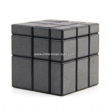 ShengShou 3x3x3 Mirror Blocks Puzzle Speed Cube 57mm - Black Body + Sticker
