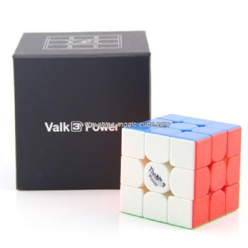 Qiyi Valk3 Power 3x3x3 Magnetic Version Speed Cube - Stickerless