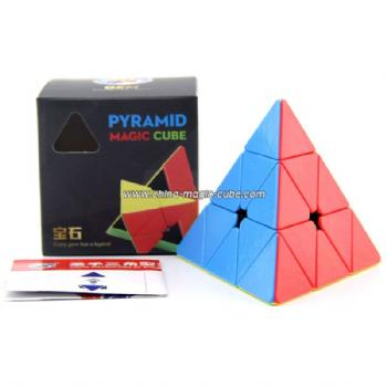 Shengshou GEM Pyraminx Magic Cube Puzzle Toys for Challenge - Colorful
