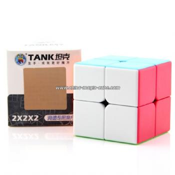 ShengShou Tank 2x2x2 Magic Cube - Colorful