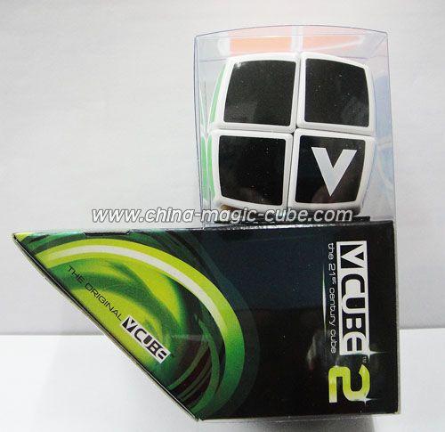 v cube 2 pillow shaped white cube china magic cube